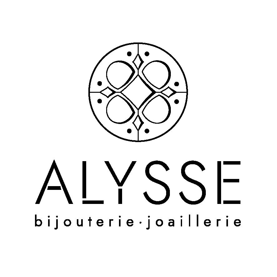 Logo Alysse bijoux noir